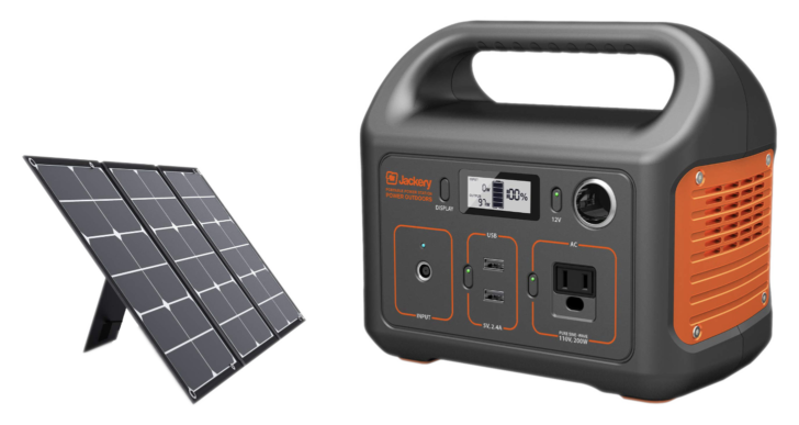 Save 30% on the Jackery Explorer 240 Power Station ($175) and SolarSaga 60W Solar Panel ($126), today only on Amazon (Sponsored Post)