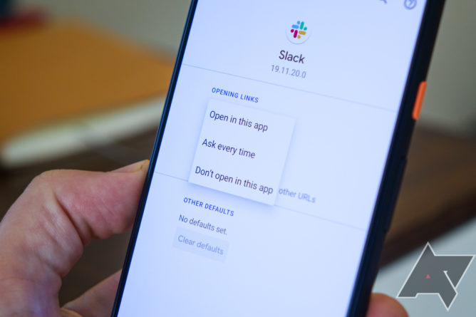 Android 11 fixes the convoluted Android 10 workflow for opening links in default apps