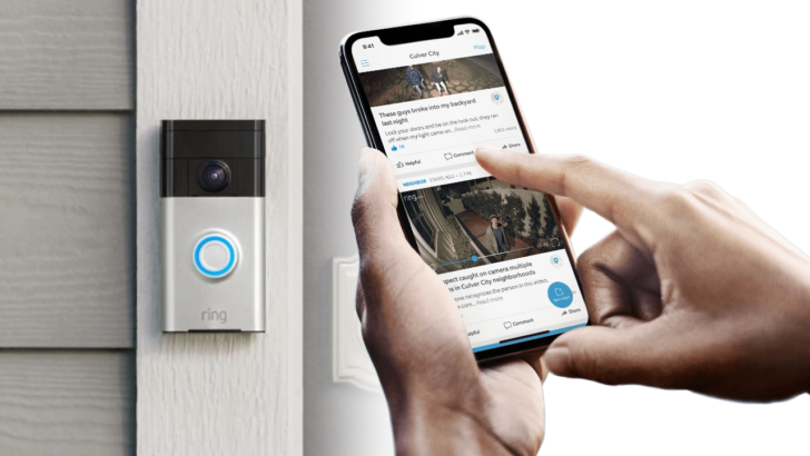If you use Neighbors, your Ring camera footage and location can be easily found by anyone
