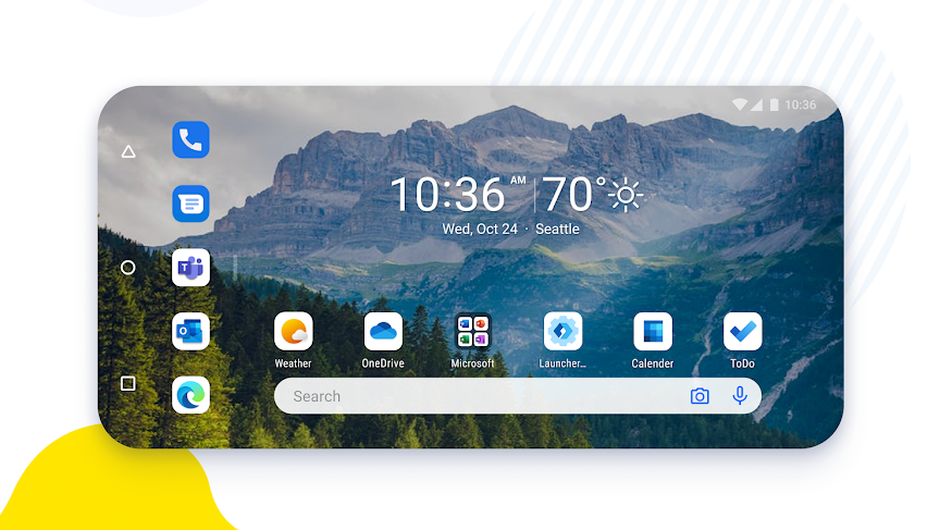 Microsoft Launcher Preview 6.0 adds landscape and improves dark mode