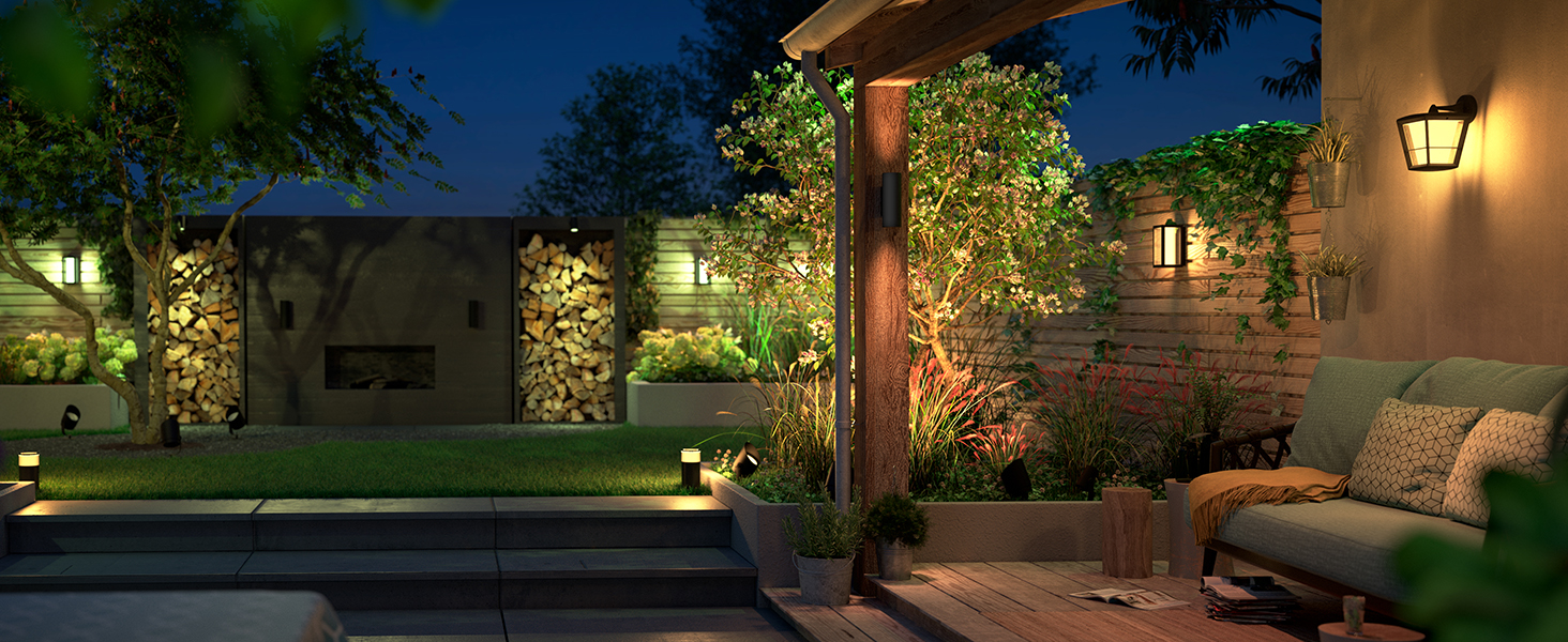 Philips Expands Hue Outdoor Lighting