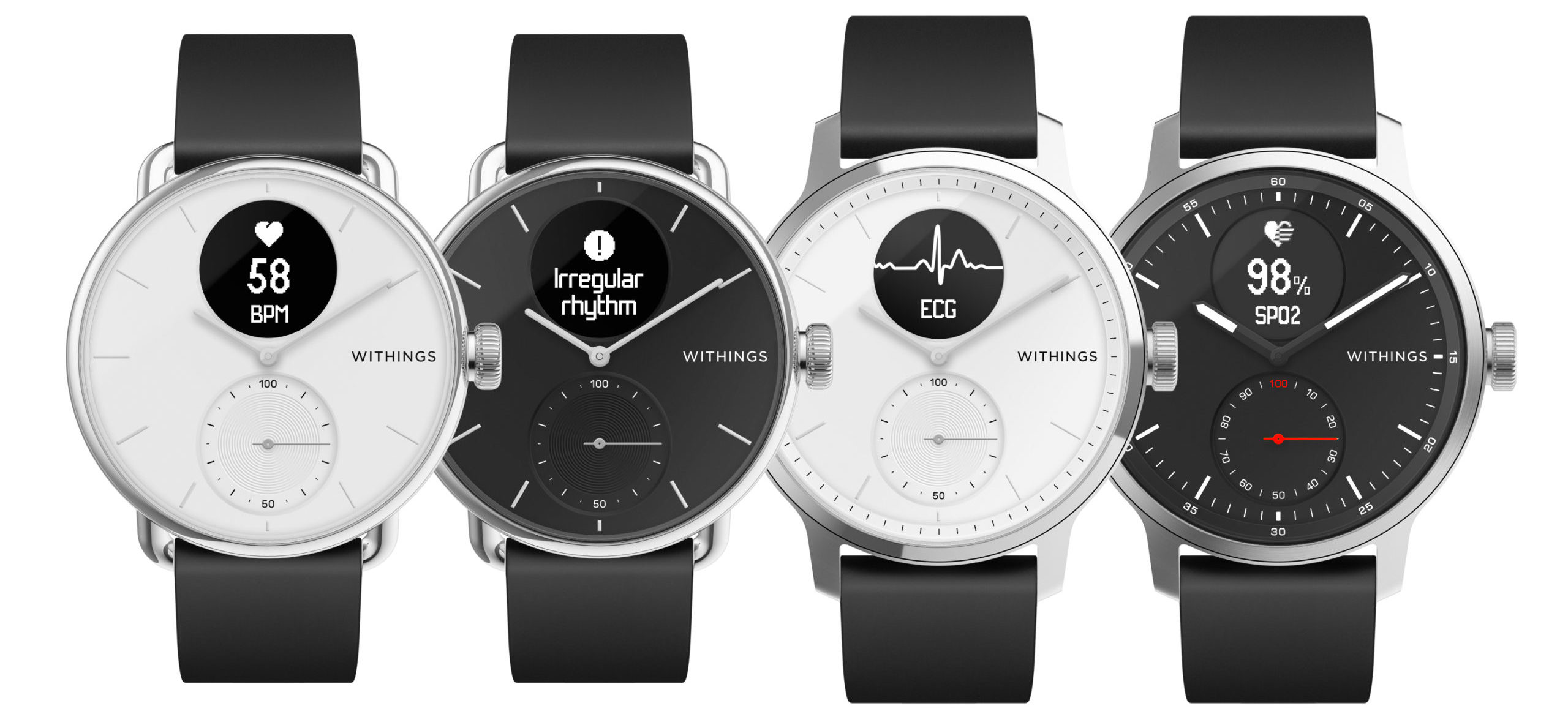 Withings ScanWatch is the first to combine AFib and sleep apnea detection
