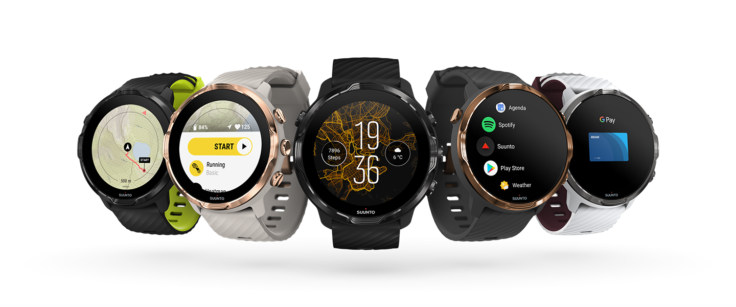Suunto 7 is the Finnish brand's first Wear OS smartwatch, and it comes with offline maps