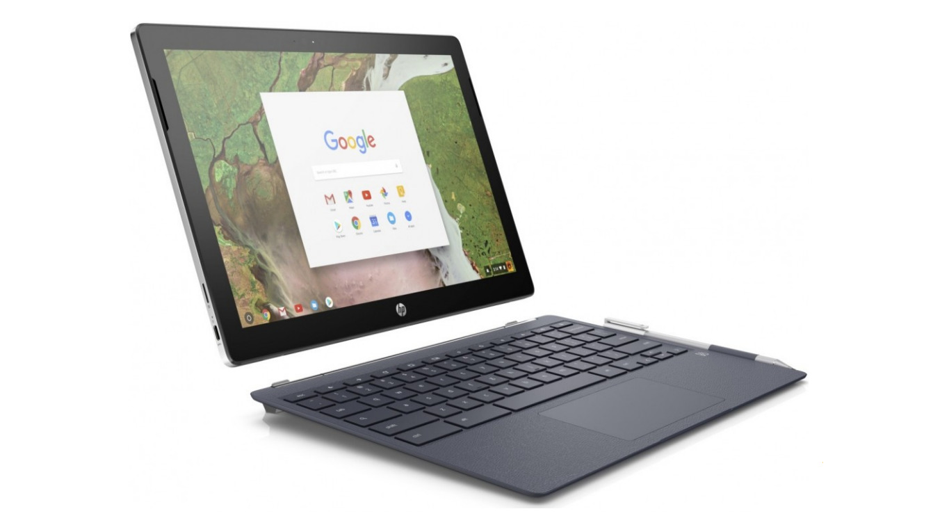 Get a refurbished HP convertible Chromebook for $263 today only