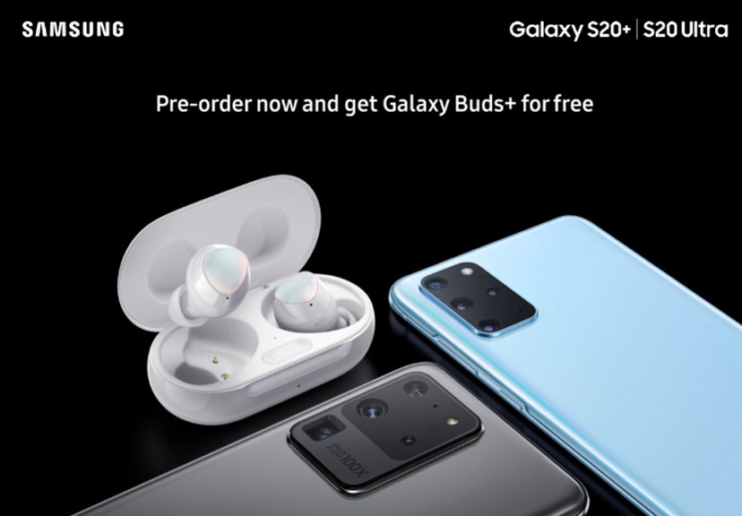 Samsung Galaxy S20+ and S20 Ultra pre-orders will reportedly come with free Galaxy Buds+ - Android Police