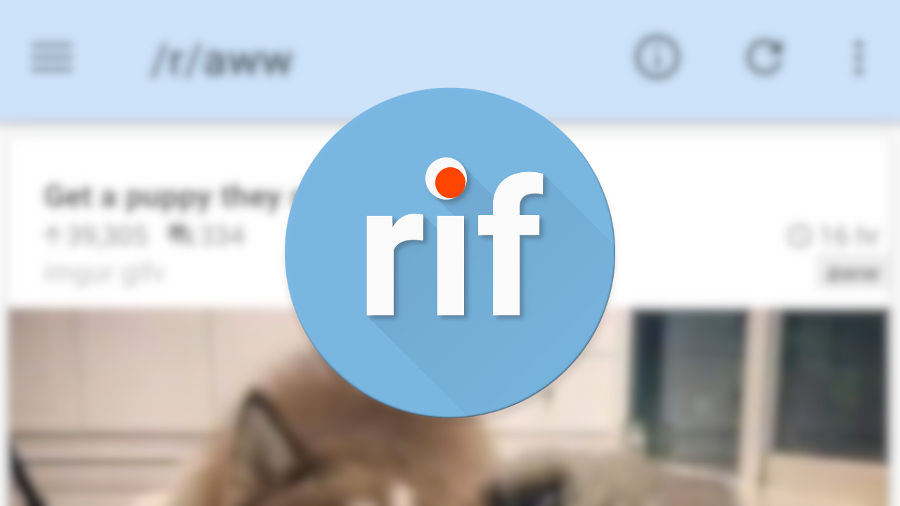 Reddit Is Fun Now Called Rif Is Fun For Reddit Due To Licensing Issues