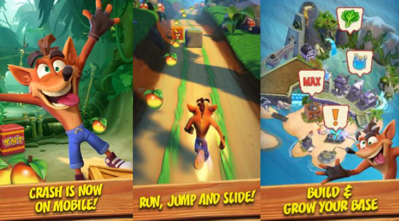 Crash Bandicoot Gets A New Mobile Runner, Courtesy Of King