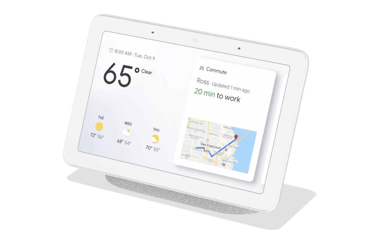Google's Nest Hub is getting a new OS you probably won't be able to spell
