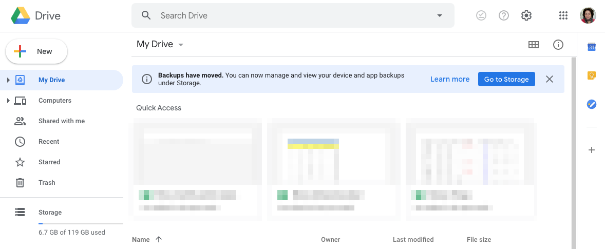 Google Moved Your Phone Backups In Drive S Desktop Site Here S