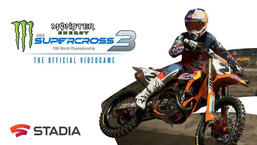 monster energy supercross 2020