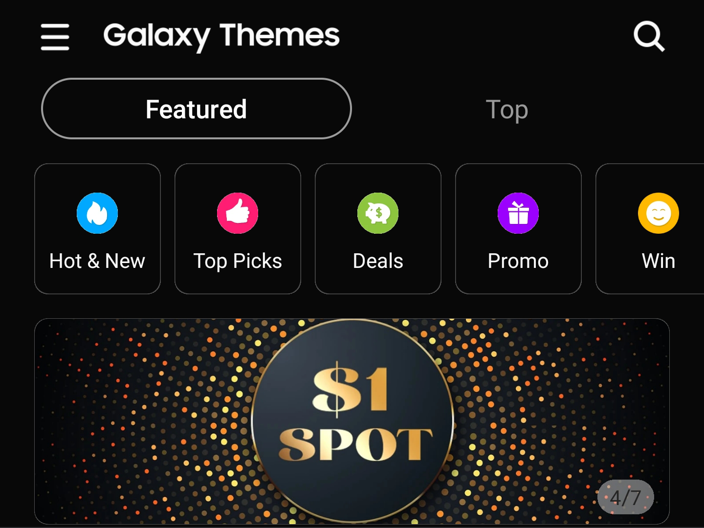 Samsung Galaxy Themes Gets Dark Mode With V5 1 Apk Download
