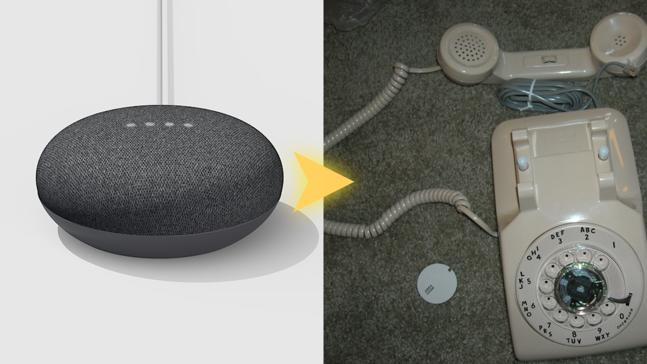 Somebody hacked a Google Home Mini into a rotary phone - Android Police