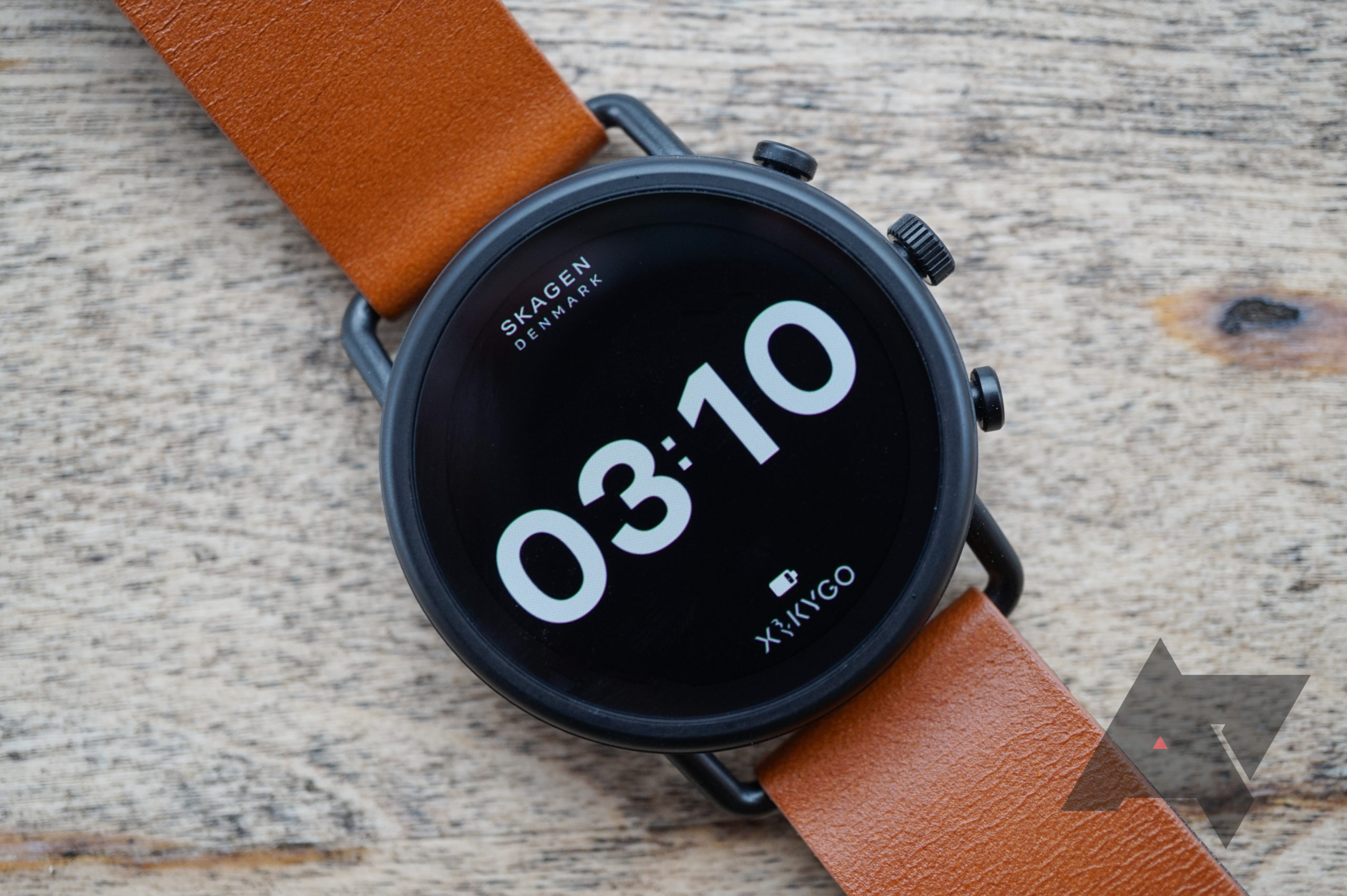 Skagen's Falster 3 Wear OS smartwatch with Wear 3100 SoC drops to $238 ($56 off)