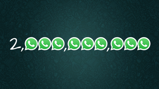 WhatsApp now serves 2 billion monthly users worldwide - Android Police
