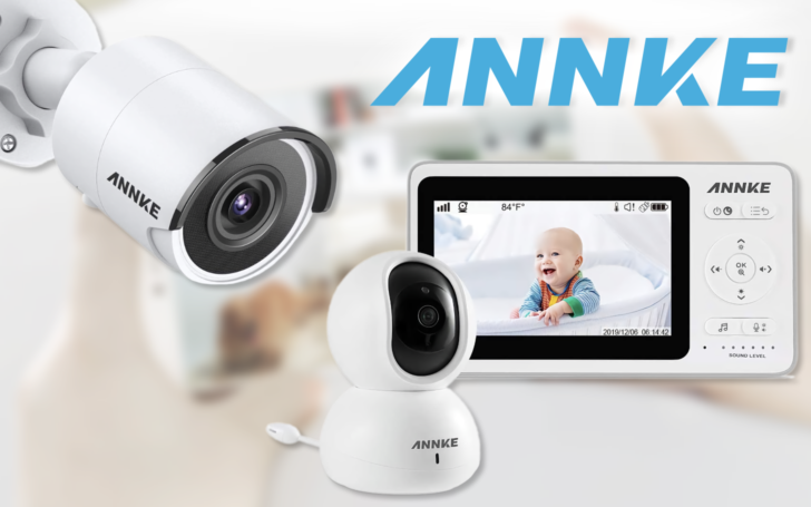 Giveaway: Win an Annke Baby Monitor or 4K IP cam, or save up to 30% with coupon code (US)