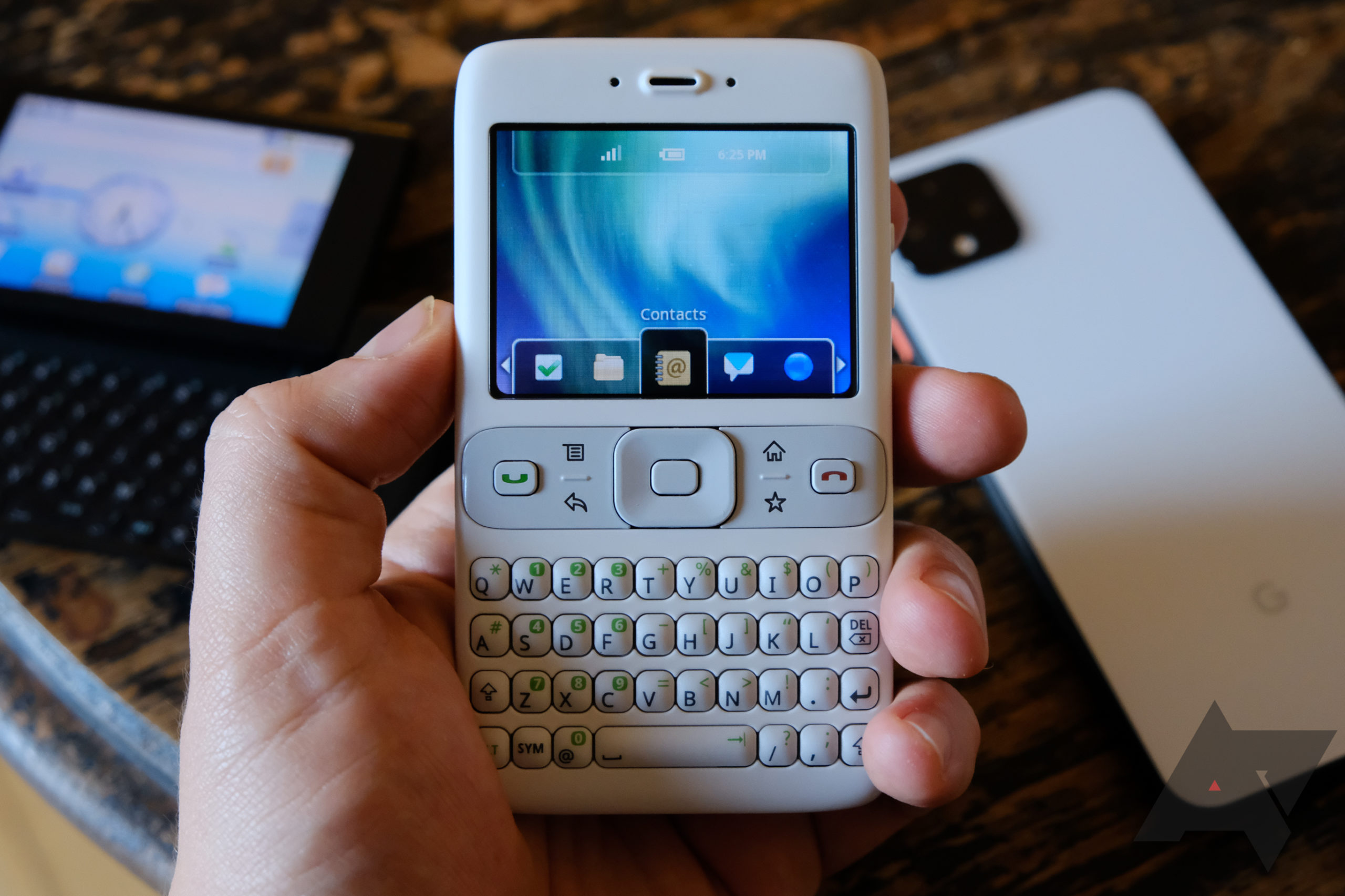 This weird Google prototype was the very first Android phone, and I bought one