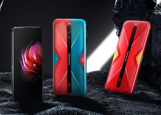 النوبة تعلن عن Red Magic 5G بشاشة 144 هرتز ومروحة تبريد (تحديث: الطلبات المسبقة) 2