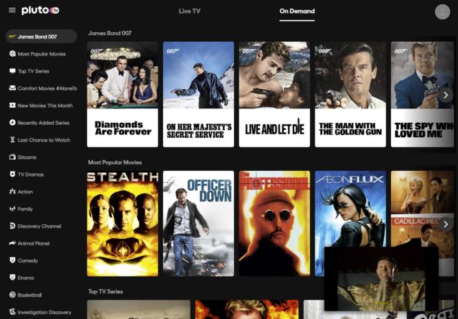 يحتوي هذا التطبيق على الكثير من العروض التلفزيونية والأفلام المباشرة المجانية على مدار 24 ساعة طوال أيام الأسبوع 5