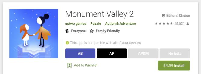Monument Valley 2 ist jetzt kostenlos Google Play Store 1