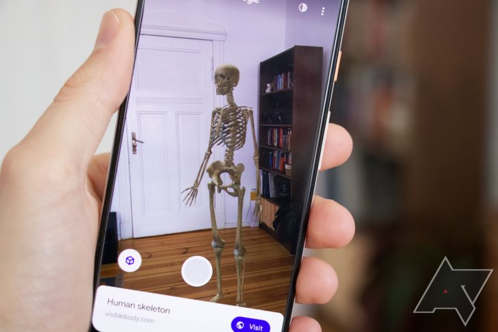 How to find a 3D skeleton, car, Santa, planet, and other cool AR objects in Google Search (Updated)