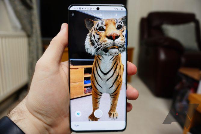 Теперь вы можете записывать видео животных и 3D-объектов из Google