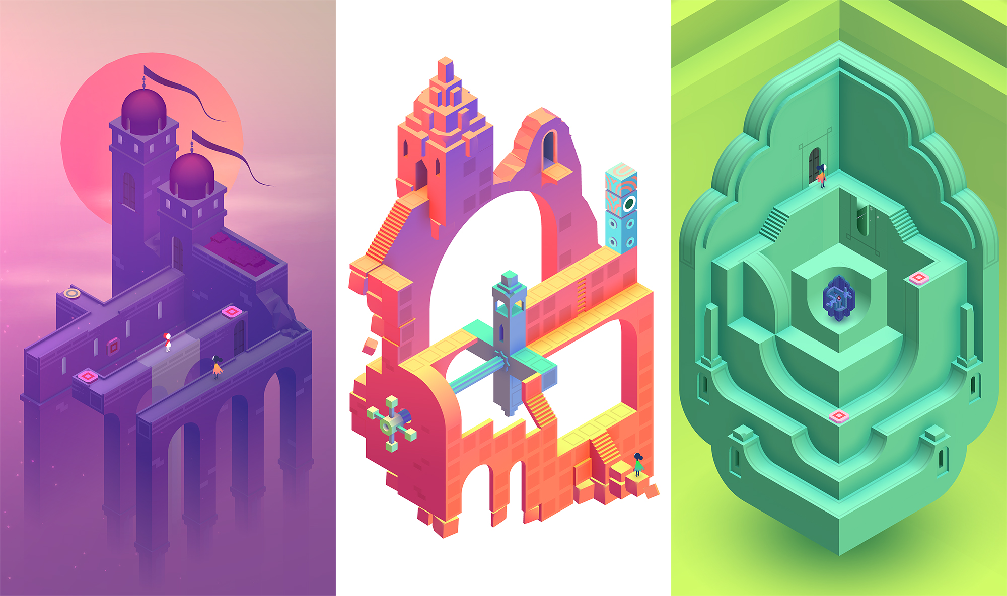 Monument Valley 2 and Lara Croft GO for Android are now free