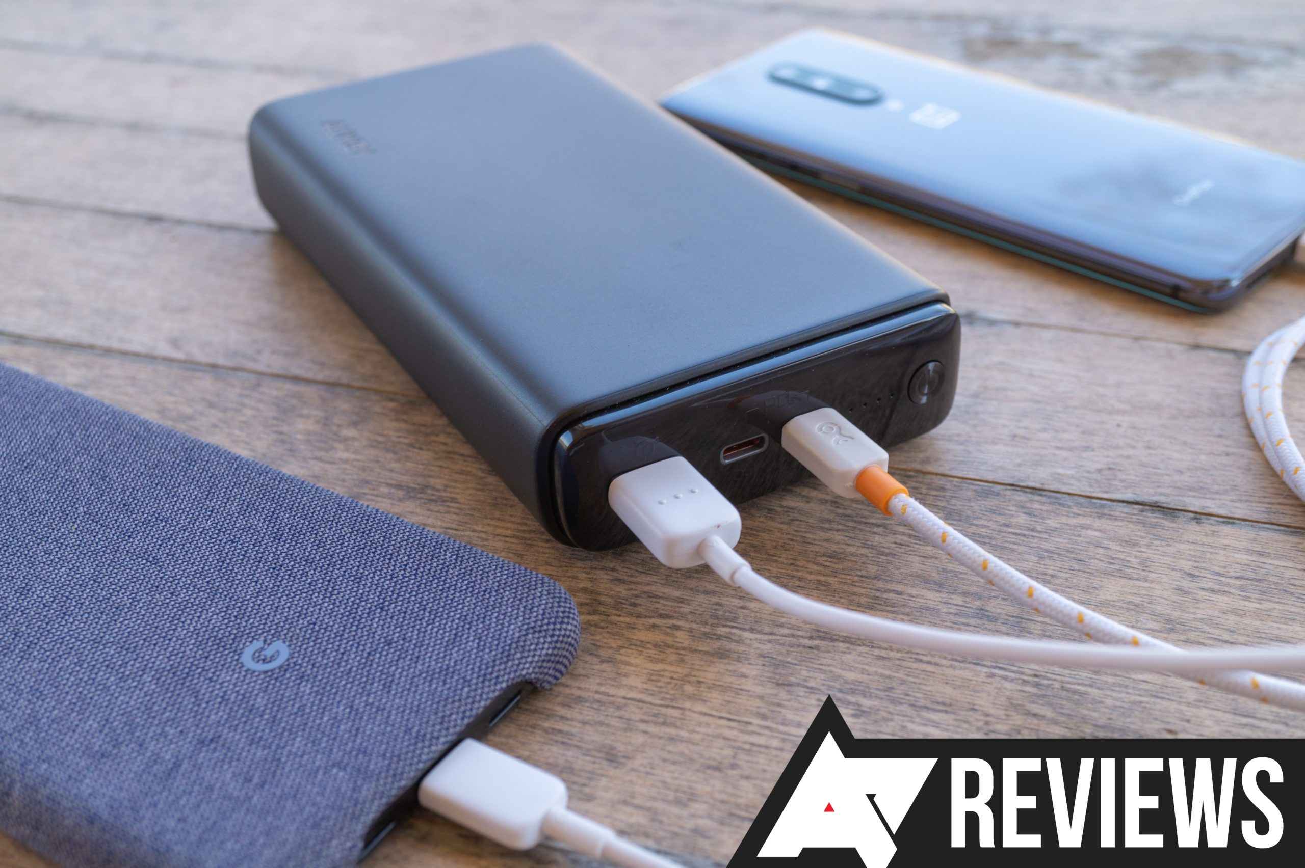 Aukey Power Bank 26800mAh review: A big battery that can quickly charge everything
