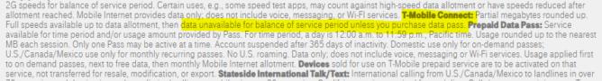 T-Mobile ofrece un plan digno 15 Dólares después del virus Corona (actualización: letra pequeña) 1