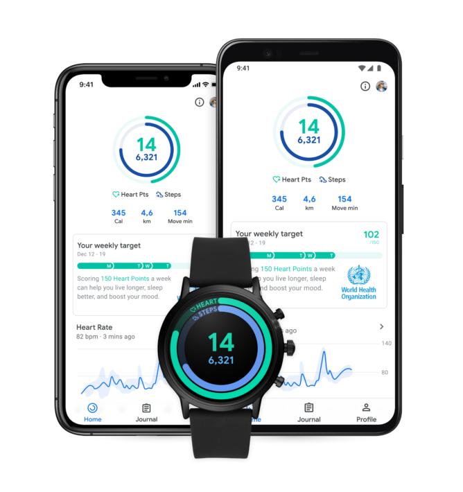 يضيف Google Fit بلاطًا جديدًا من Wear OS ، ويحدد أولويات عداد الخطوات ، ويحسن توصيات Heart Point 1