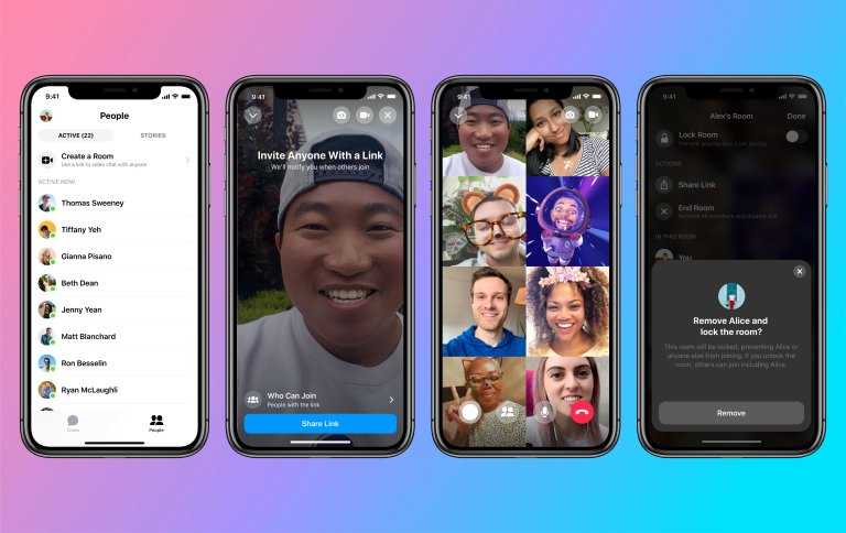 Facebook Messenger Rooms challenges Zoom with free, unlimited group video calls