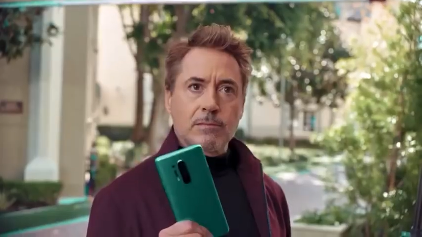 Robert Downey Jr's OnePlus 8 Pro commercial features an epic water fight