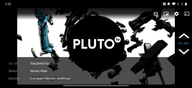 أحدث تحديث لـ Pluto TV يجلب واجهة جديدة ، يسقط صورة داخل صورة وإعدادات جودة البث 3