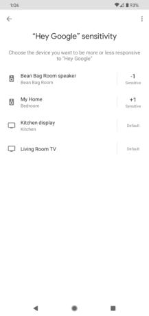 """يتيح لك Google Home أخيرًا ضبط حساسية الاستماع """"OK Google"""" 5"""