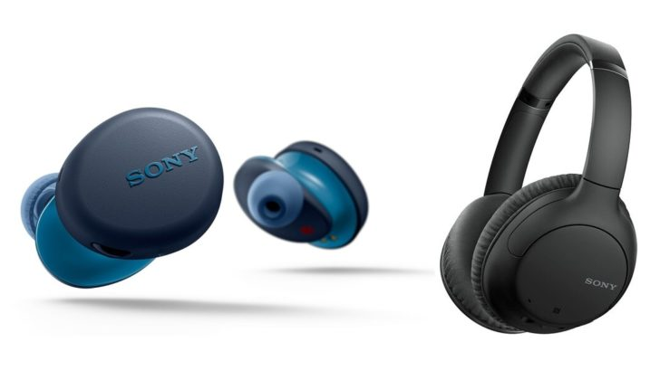 Sony's latest true wireless earbuds and noise-canceling over-ear headphones start at $130