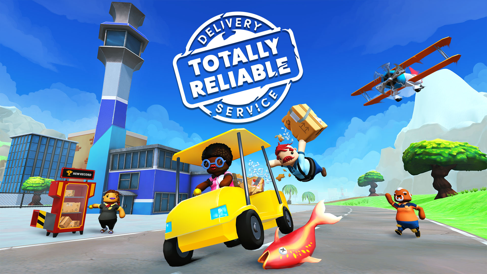 Totally Reliable Delivery Service is a quirky ragdoll physics game that just landed on Android - Android Police