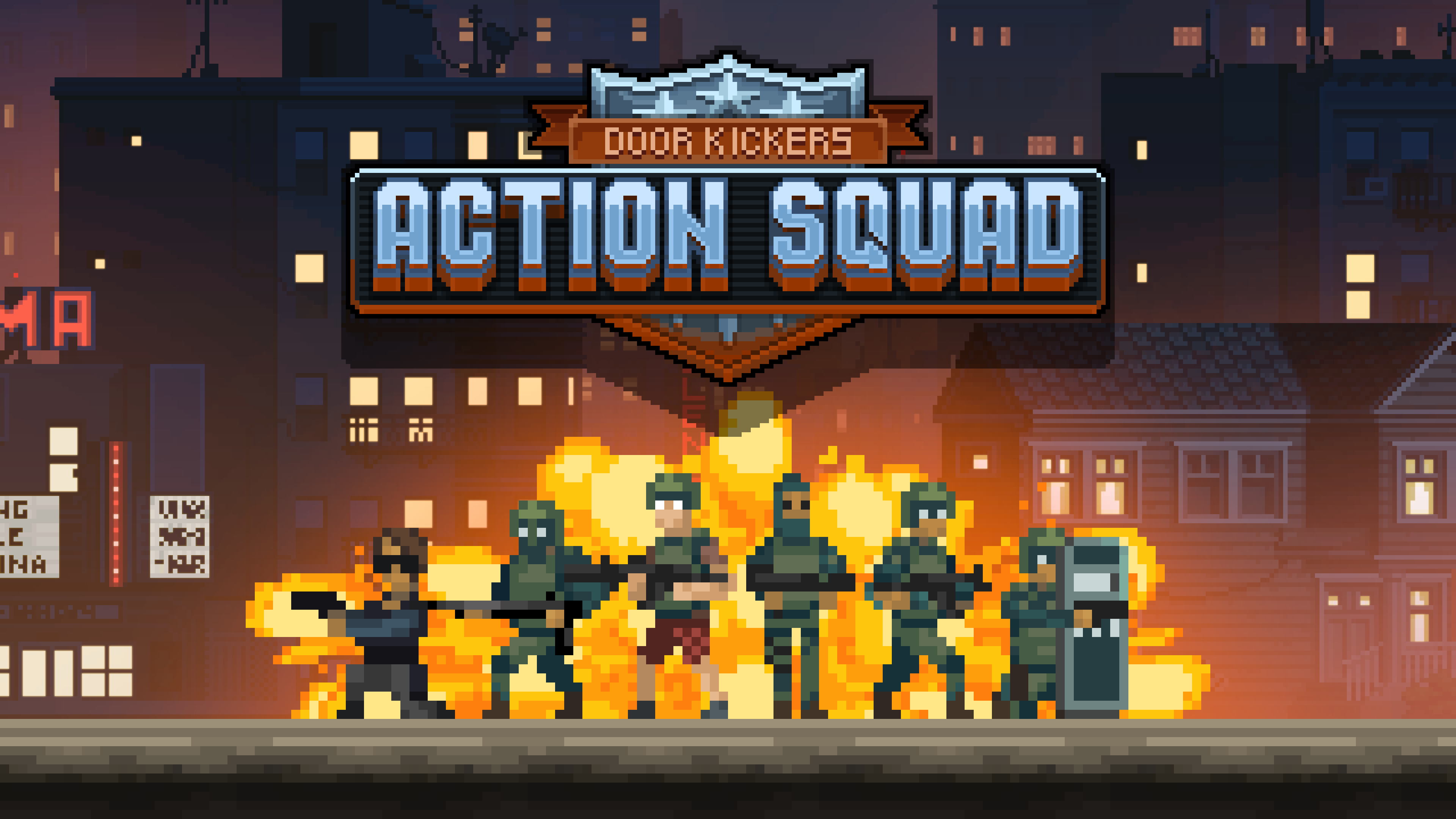 Side-scrolling shooter Door Kickers: Action Squad appears on Play Store for pre-registration