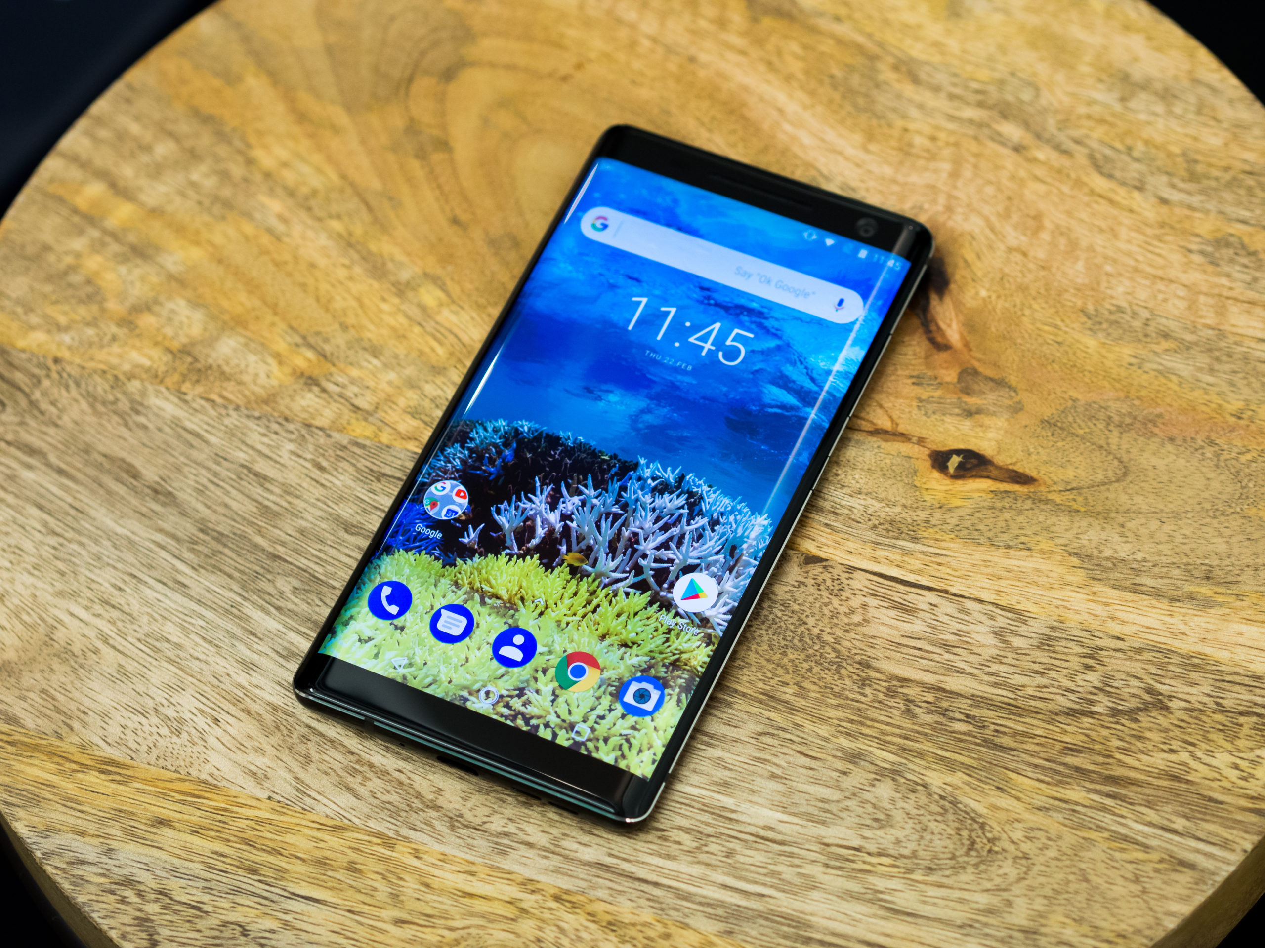 Nokia 8 Sirocco Android 10 update starts rolling out in India