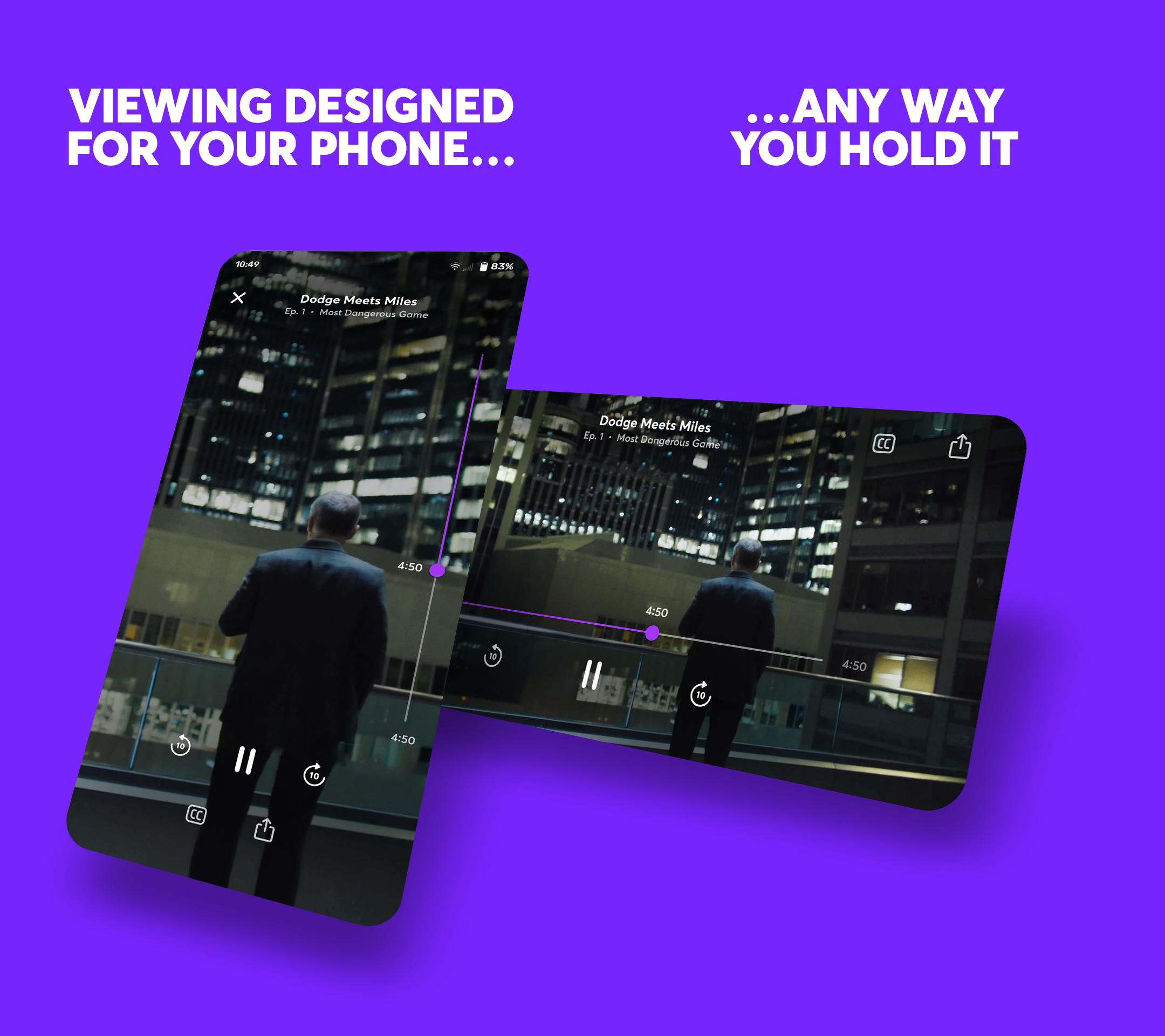 Smartphone-optimized streaming service Quibi launches today