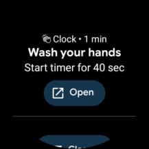 Wear OS te ayuda en el correcto lavado de manos