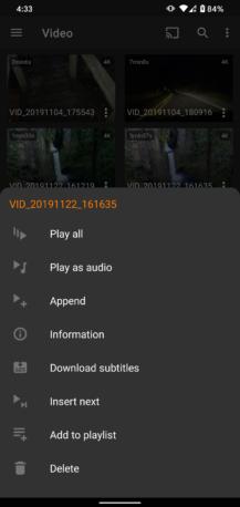 VLC Pilotunun son versiyası alt naviqasiyaya əlavə edir və Paylaş menyusuna əlavə olunur 4