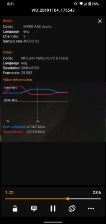 VLC Pilotunun son versiyası alt naviqasiyaya əlavə edir və Paylaş menyusuna əlavə olunur 8