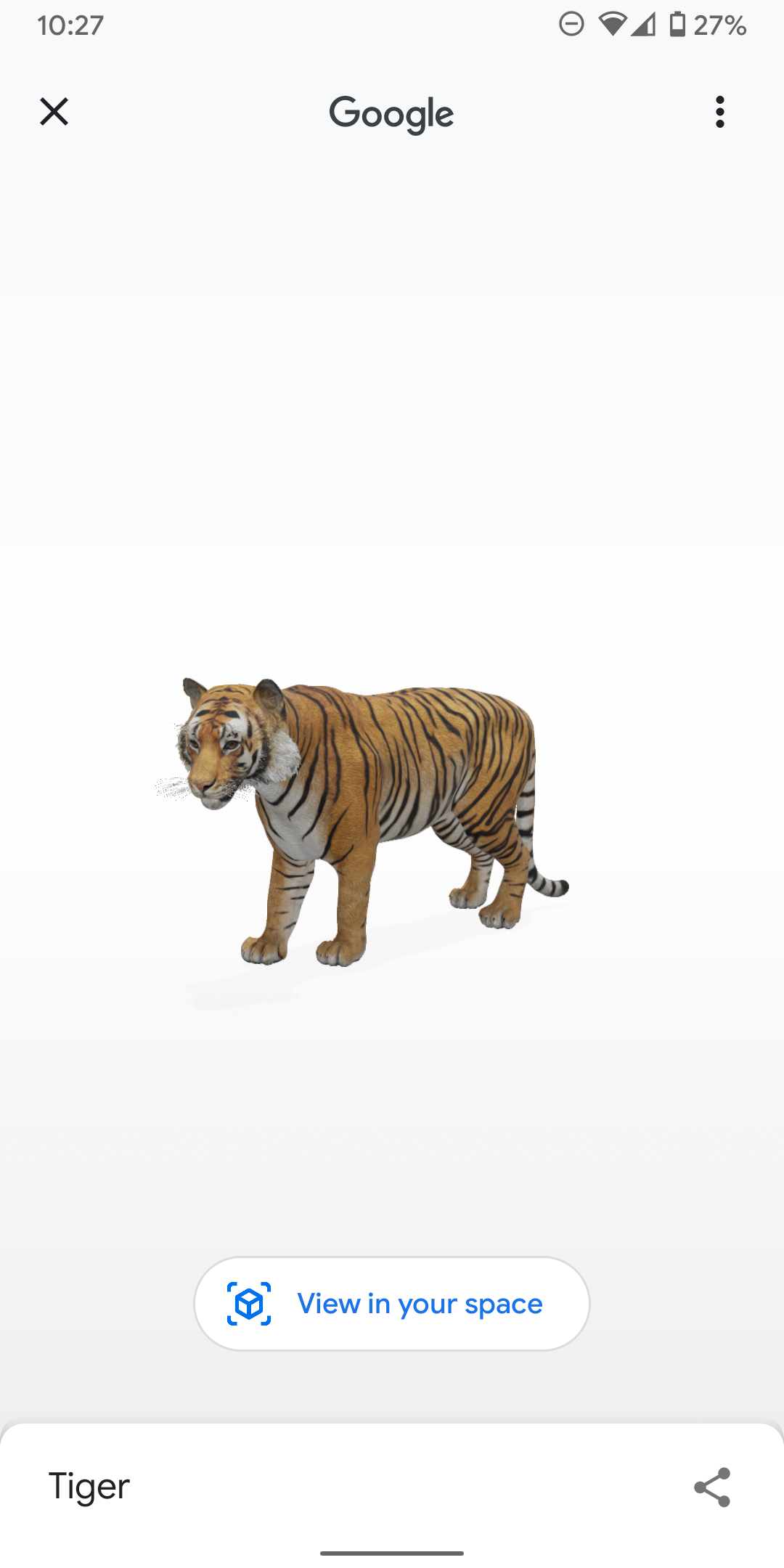 You Can Now Video Record Google S 3d Animals And Objects