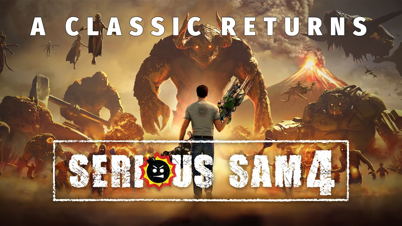 Serious Sam 4 launches in August for PC