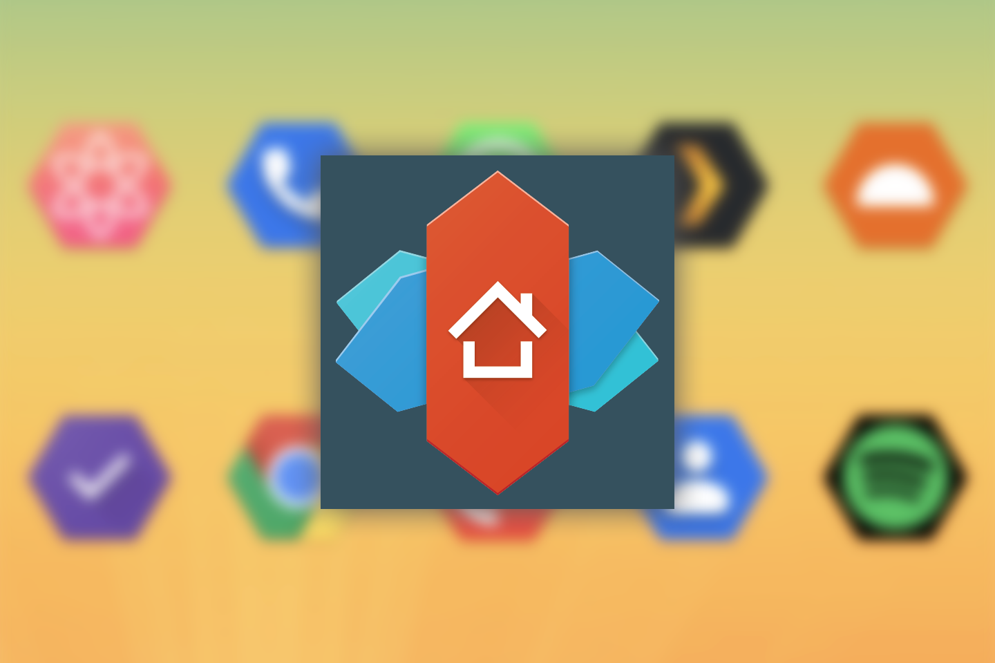 Nova Launcher Beta Adds Android 11 S Quirky Flower Pebble And Vessel Icon Shapes Apk Download