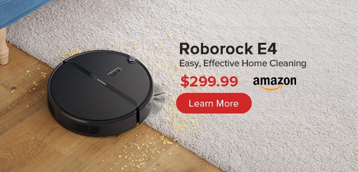 Roborock E4 Robot Vacuum Cleaner $299.99