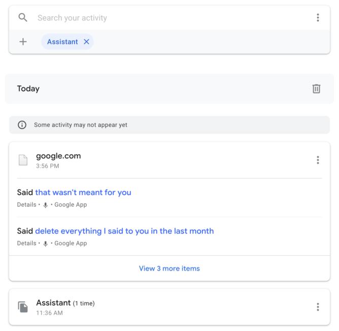 كيفية الحفاظ على بعض الخصوصية عند استخدام Google Assistant مكبر الصوت 6