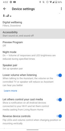 كيفية الحفاظ على بعض الخصوصية عند استخدام Google Assistant مكبر الصوت 4