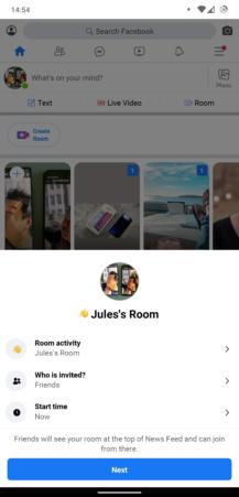 هنا حيث يمكنك العثور على غرف Messenger Facebook و Instagram 3