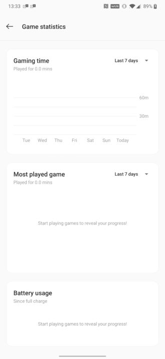OnePlus Sport Area provides customized Immediate Video games, playtime stats 6