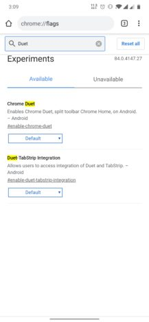 Chrome 84 removes Duet interface, tests bottom tab switcher, blocks some intrusive notifications, and more (APK Download) 1